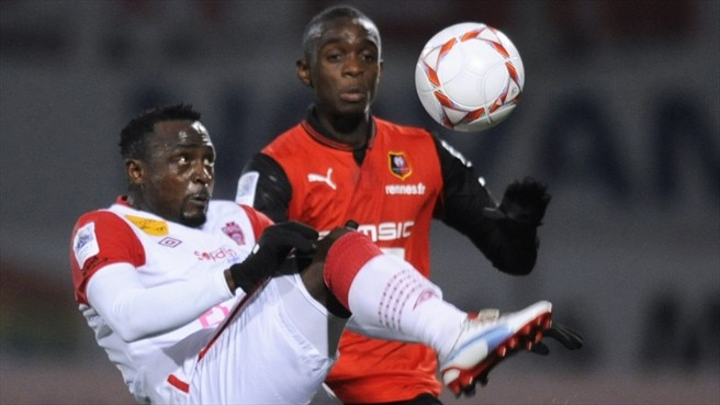 Chris Mavinga (Stade Rennais FC) &  Simon Zenke (AS Nancy-Lorraine)