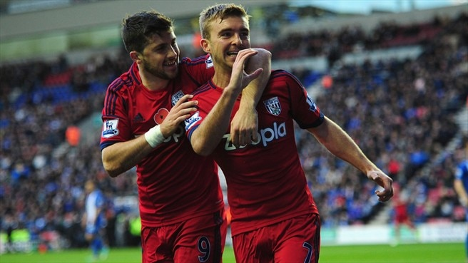 James Morrison & Shane Long (West Bromwich Albion FC)