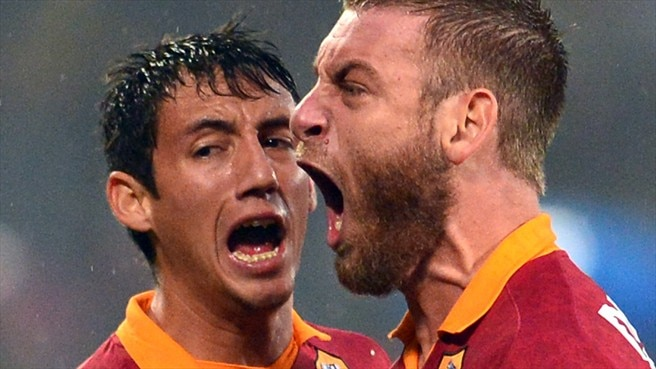 Ivan Piris & Daniele De Rossi (AS Roma)