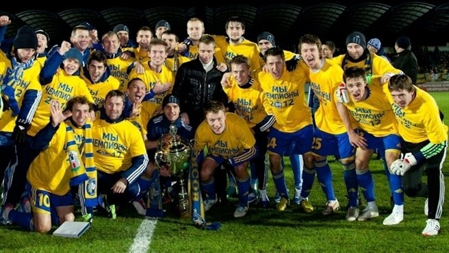BATE wrap up Belarusian title in style