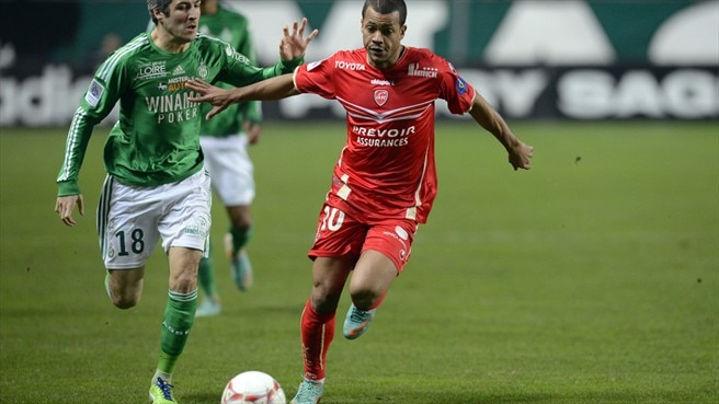 Mathieu Dossevi (Valenciennes FC) & Fabien Lemoine (AS Saint-Étienne)