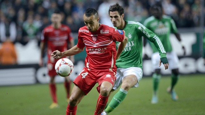Foued Kadir (Valenciennes FC) & Jeremy Clement (AS Saint-Étienne)