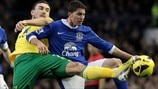 Robert Snodgrass (Norwich City FC) & Bryan Oviedo (Everton FC)