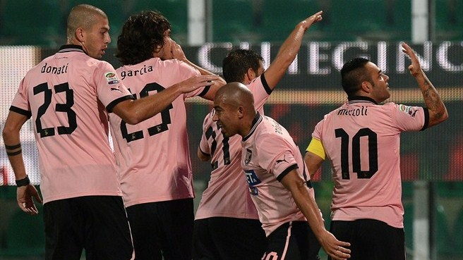 Miccoli hits milestone in Palermo derby win