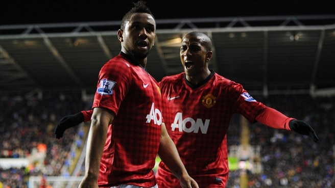 Anderson & Ashley Young (Manchester United FC)