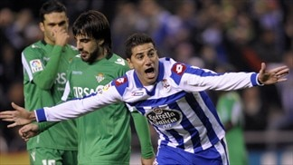 Nothing to separate Betis and Deportivo