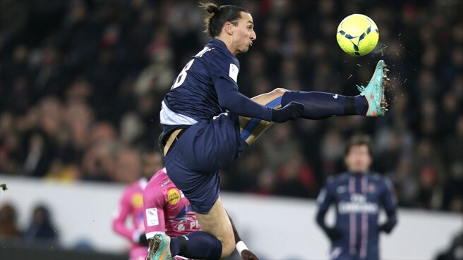Zlatan Ibrahimović (Paris Saint-Germain FC)