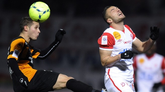 Loris Nery (Valenciennes FC) & Yohann Mollo (AS Nancy-Lorraine)