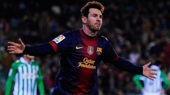 Messi passes Müller's mark, Falcao fires five