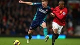 Sebastian Larsson (Sunderland AFC) &  Ashley Young (Manchester United FC)
