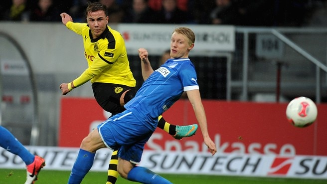 Dortmund halt winless streak at Hoffenheim