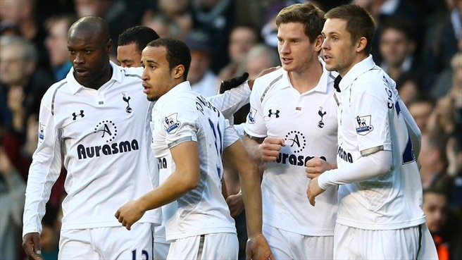 Tottenham up to fourth with Swansea win