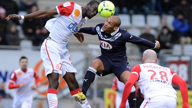 Yoan Gouffran (FC Girondins de Bordeaux) & Helder (AS Nancy-Lorraine)