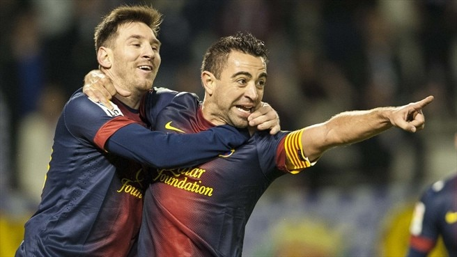 Injured Xavi targets Milan return