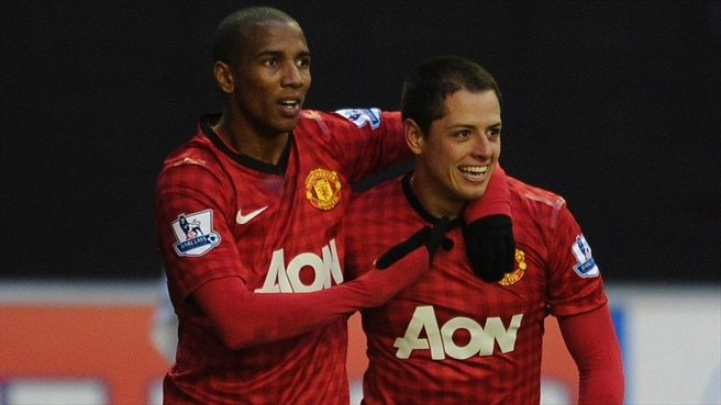Javier Hernández & Ashley Young (Manchester United FC)