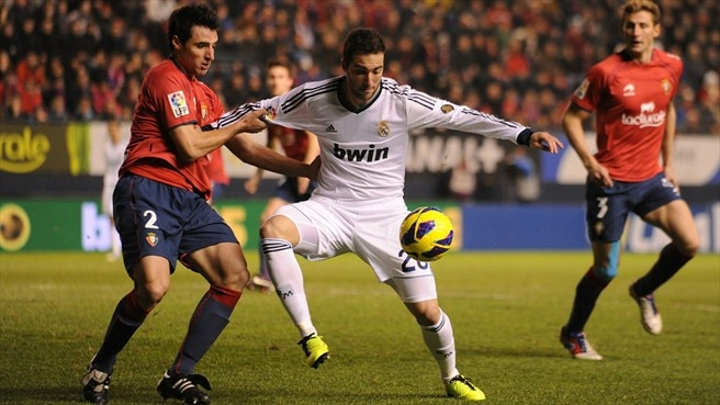 Madrid drop more points against lowly Osasuna