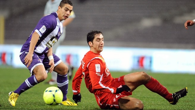 Wissam Ben Yedder (Toulouse FC) & Thomas Ayasse (AS Nancy-Lorraine)