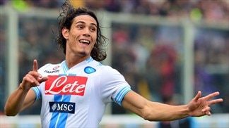 Cavani brings up century as Napoli are held