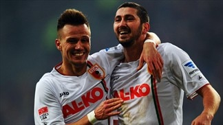 Augsburg down Düsseldorf to boost survival hopes