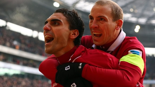 Mohammed Abdellaoue & Jan Schlaudraff (Hannover 96)