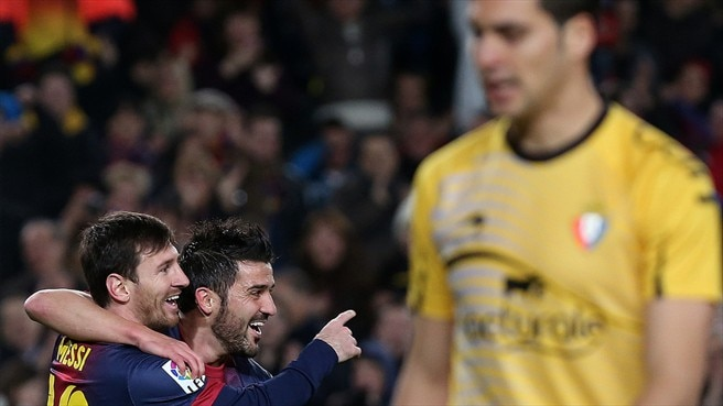 Lionel Messi & David Villa (FC Barcelona)