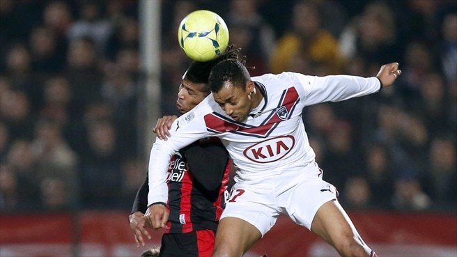 David Bellion (FC Girondins de Bordeaux) & Kevin Anin (OGC Nice)