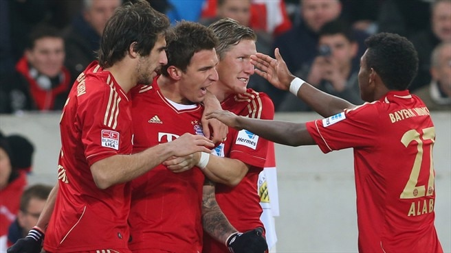 Bayern broaden Bundesliga lead
