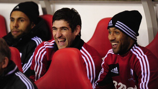 Danny Graham & Wayne Routledge (Swansea City AFC)