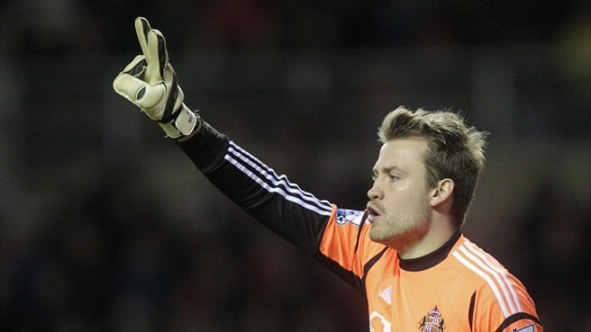 Mignolet moves from Sunderland to Liverpool