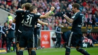 Relentless Bayern stretch lead with Mainz success