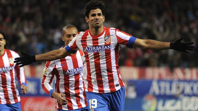 Diego Costa delighted with new Atlético deal