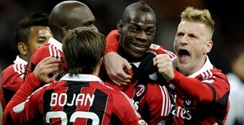 Mario Balotelli made the difference for Milan