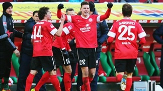 Freiburg gain ground in Europa League quest