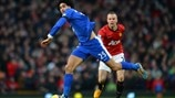 Marouane Fellaini (Everton FC) & Tom Cleverley (Manchester United FC)