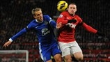 Wayne Rooney (Manchester United FC) & Phil Neville (Everton FC)