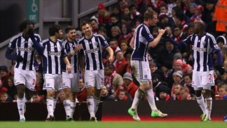 West Brom ride storm to stun Liverpool