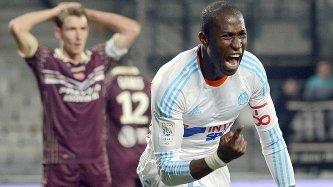 Marseille move second with added-time win