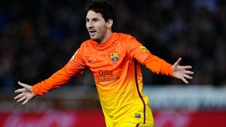 No stopping Messi in Golden Shoe race