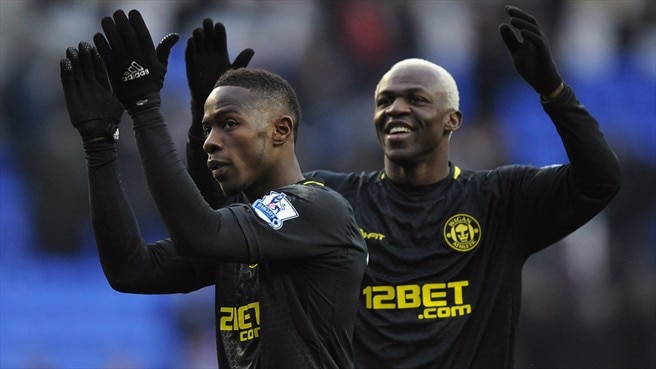 Maynor Figueroa & Arouna Koné (Wigan Athletic FC)