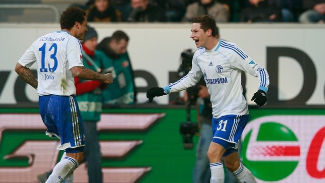 Julian Draxler & Jermaine Jones (FC Schalke 04)