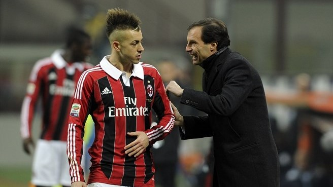 Surgery rules out El Shaarawy for ten weeks