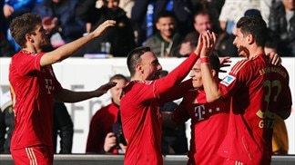 Gomez goal gifts Bayern victory at Hoffenheim