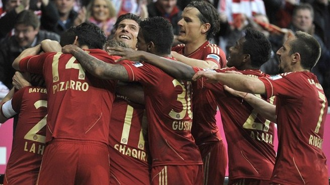 Bayern lead the charge as pacesetters make hay