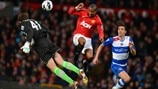 Ashley Young (Manchester United FC) & Stuart Taylor (Reading FC)