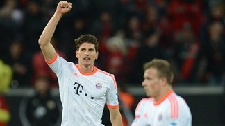 Bayern beat Leverkusen for ninth straight win