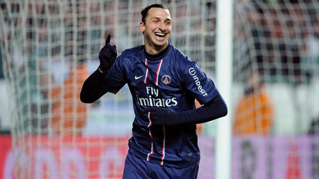 Zlatan Ibrahimović (Paris Saint-Germain)