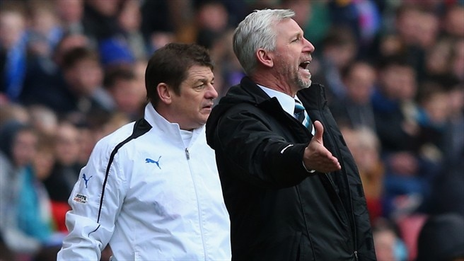 Alan Pardew & John Carver (Newcastle United FC)