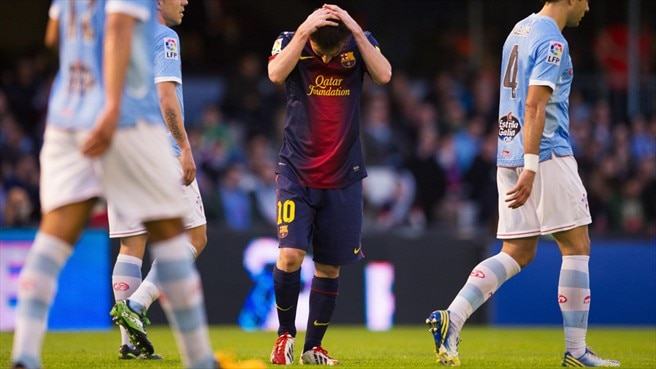 More Messi injury misery with two-month lay-off