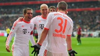 Record-breaking Bayern win Bundesliga title