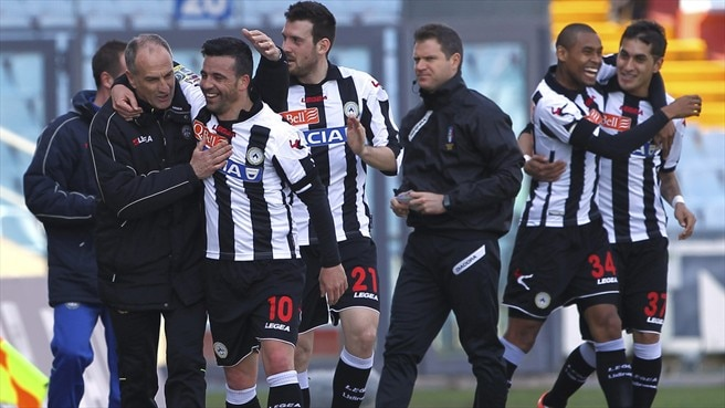 Antonio Di Natale & Francesco Guidolin (Udinese Calcio)